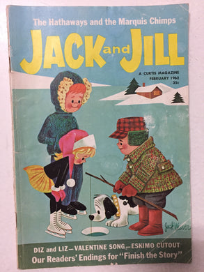 Jack and Jill Magazine February 1962 - Slickcatbooks