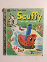 Scuffy the Tugboat and His Adventures Down the River - Slick Cat Books