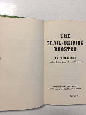 Trail-Driving Rooster - Slickcatbooks