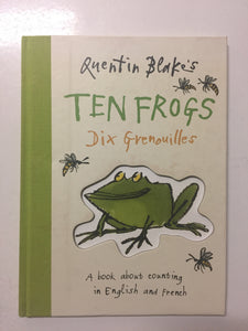 Quentin Blake's Ten Frogs/Dix Grenouilles - Slick Cat Books