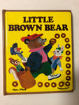 Little Brown Bear - Slick Cat Books