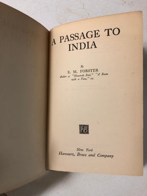 A Passage to India - Slickcatbooks
