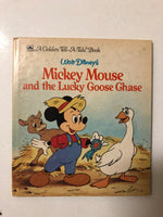 Walt Disney's Mickey Mouse and the Lucky Goose Chase - Slick Cat Books