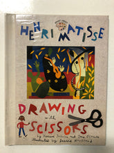 Henri Matisse Drawing With Scissors - Slick Cat Books