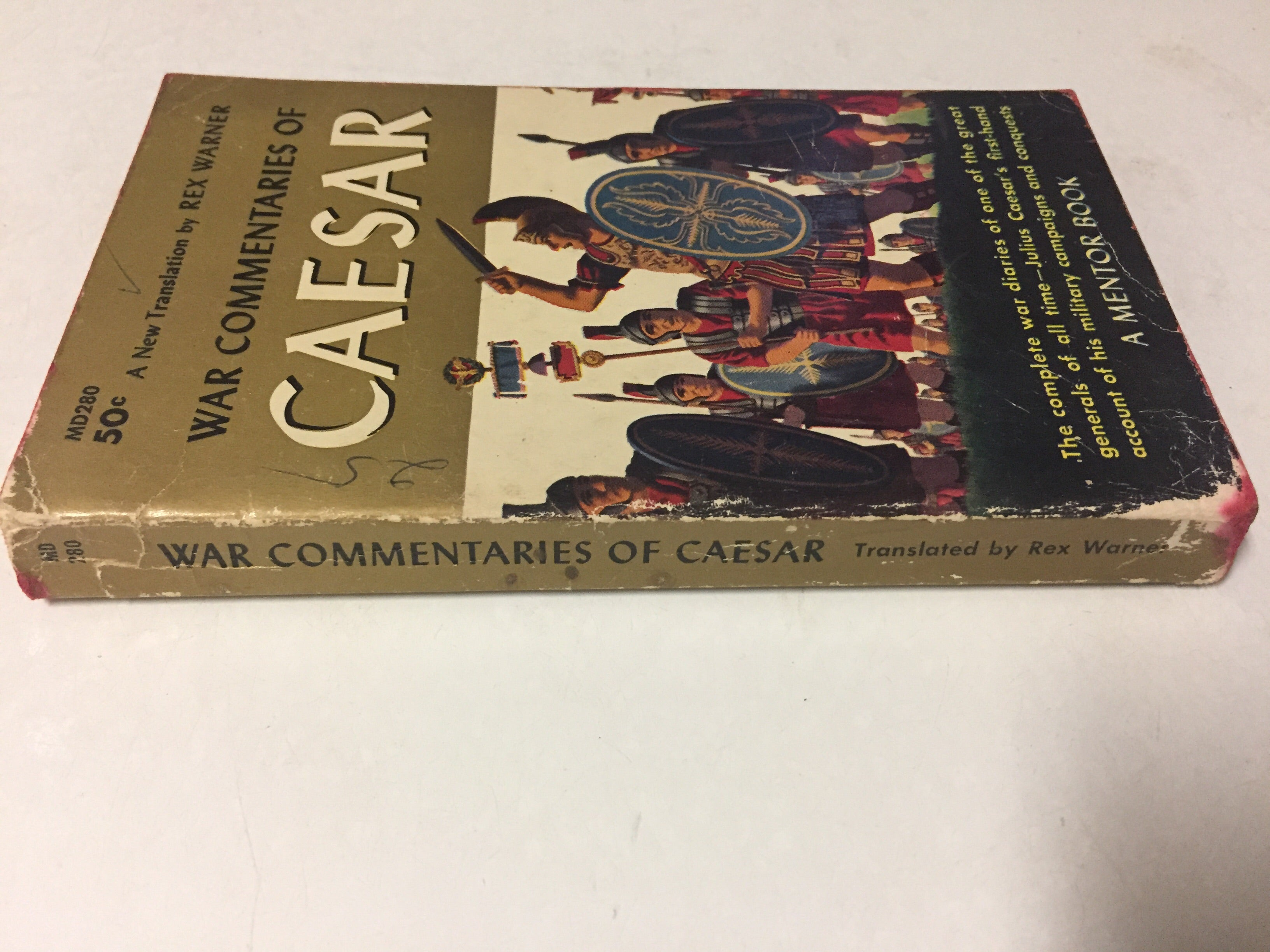 War Commentaries of Caesar - Slickcatbooks
