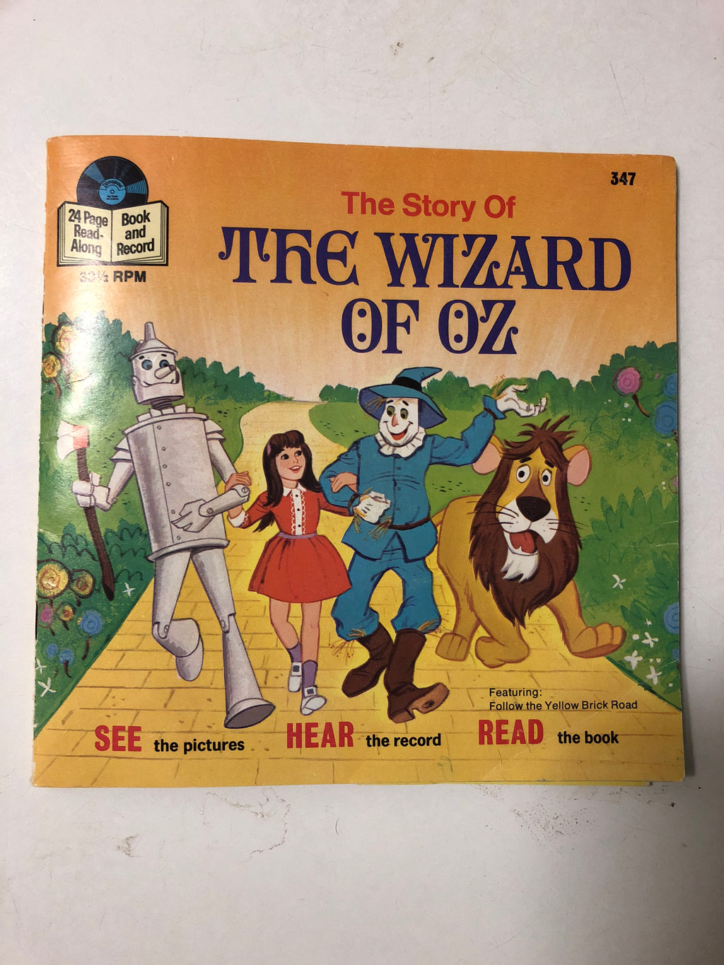 The Story of The Wizard of Oz - Slick Cat Books