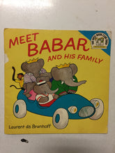 Meet Babar and His Family - Slickcatbooks