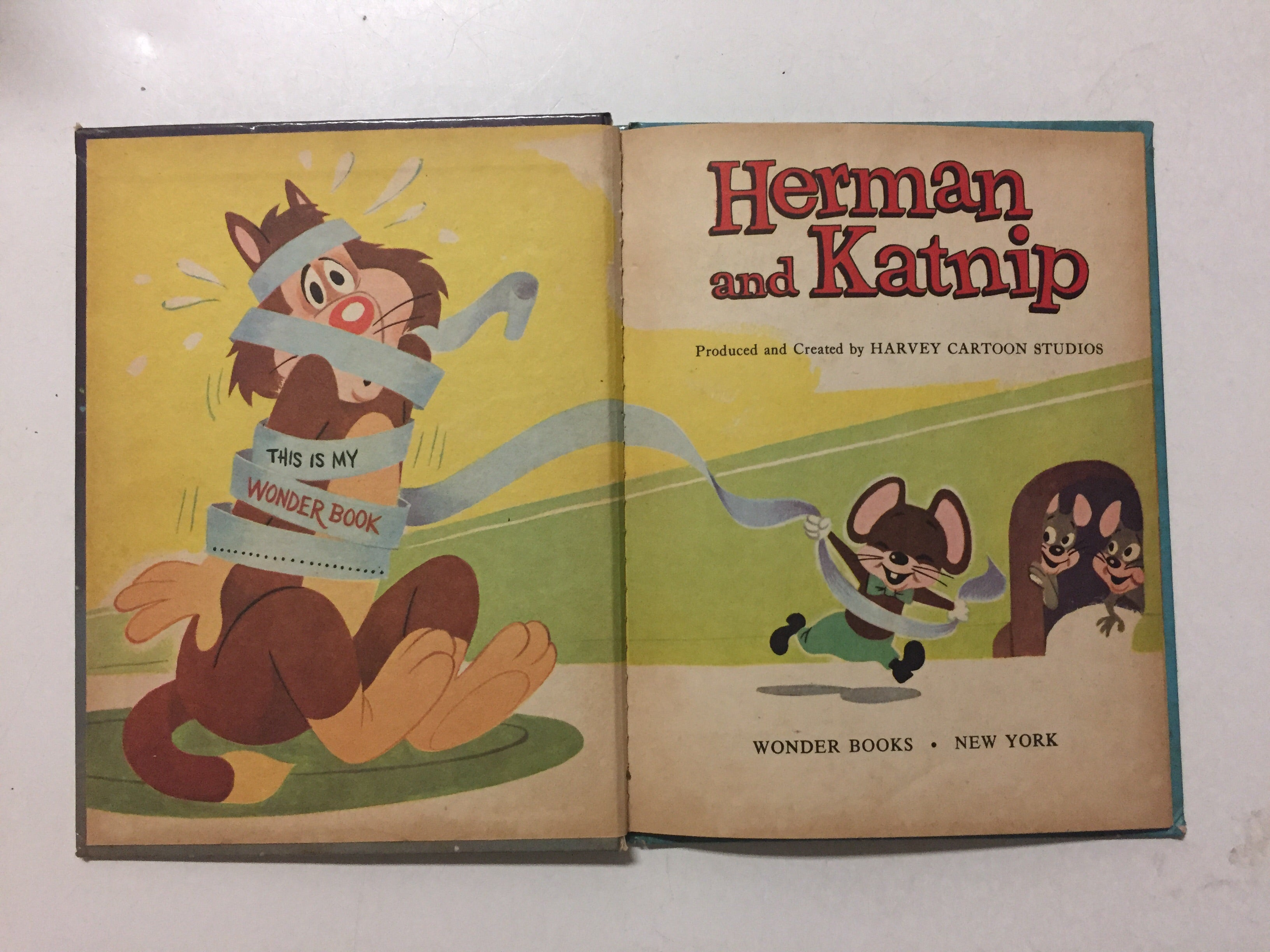 Herman and Katnip - Slickcatbooks