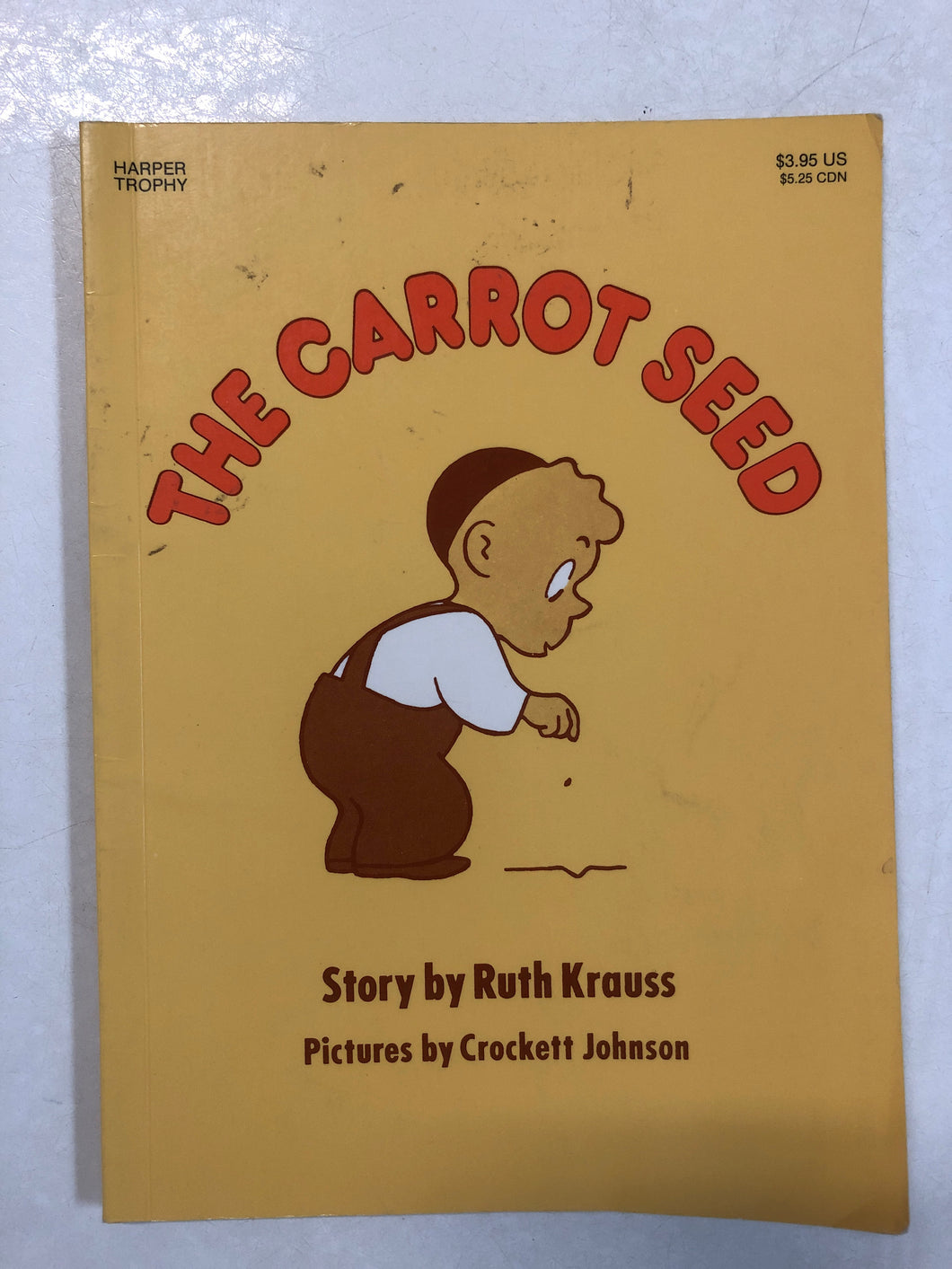 The Carrot Seed - Slick Cat Books