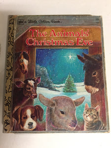 The Animals Christmas Eve - Slickcatbooks