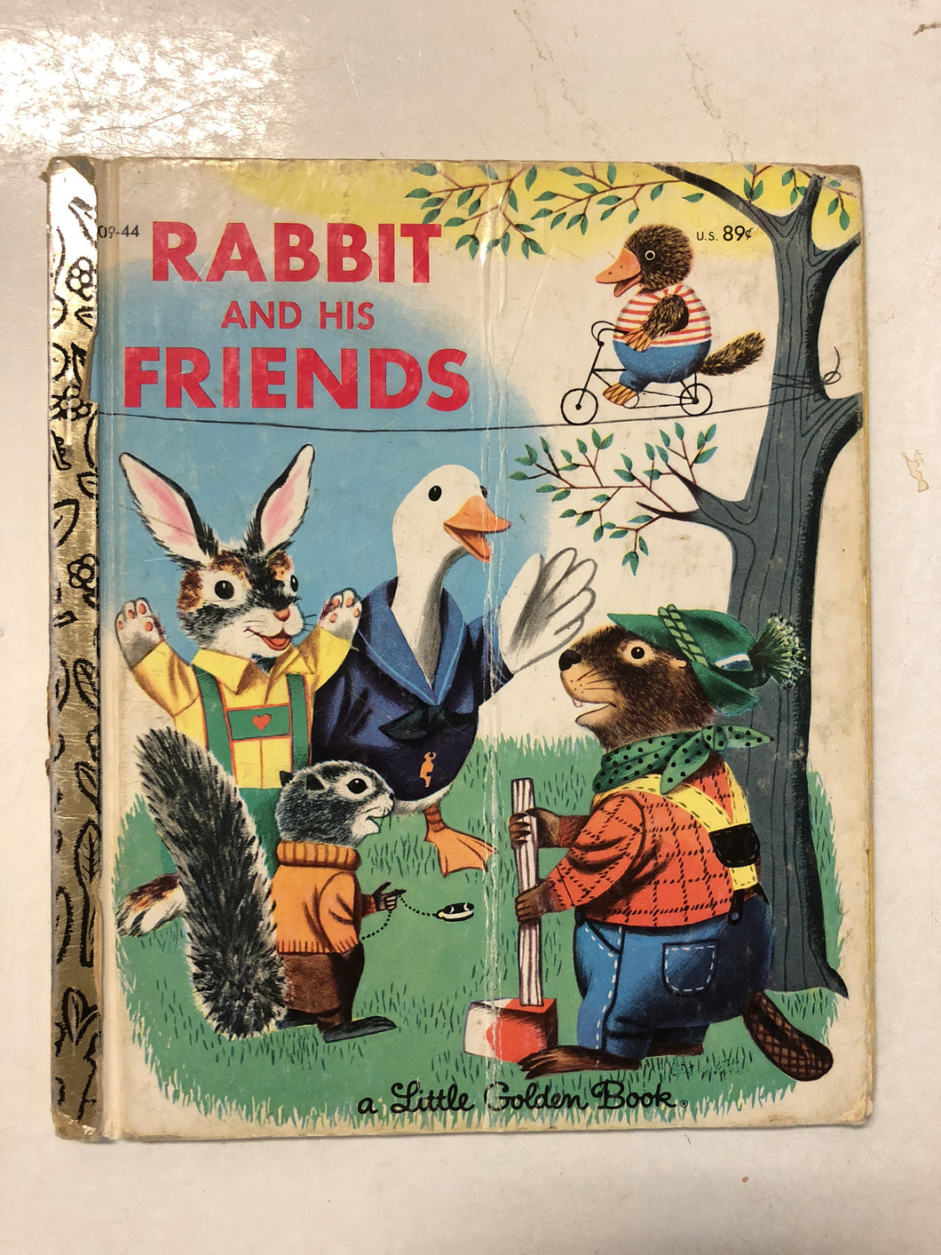 Rabbit and His Friends - Slick Cat Books