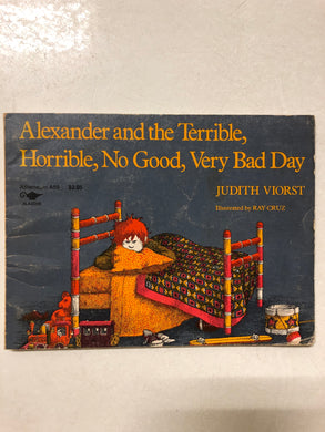 Alexander and the Terrible, Horrible, No Good, Very Bad Day - Slick Cat Books