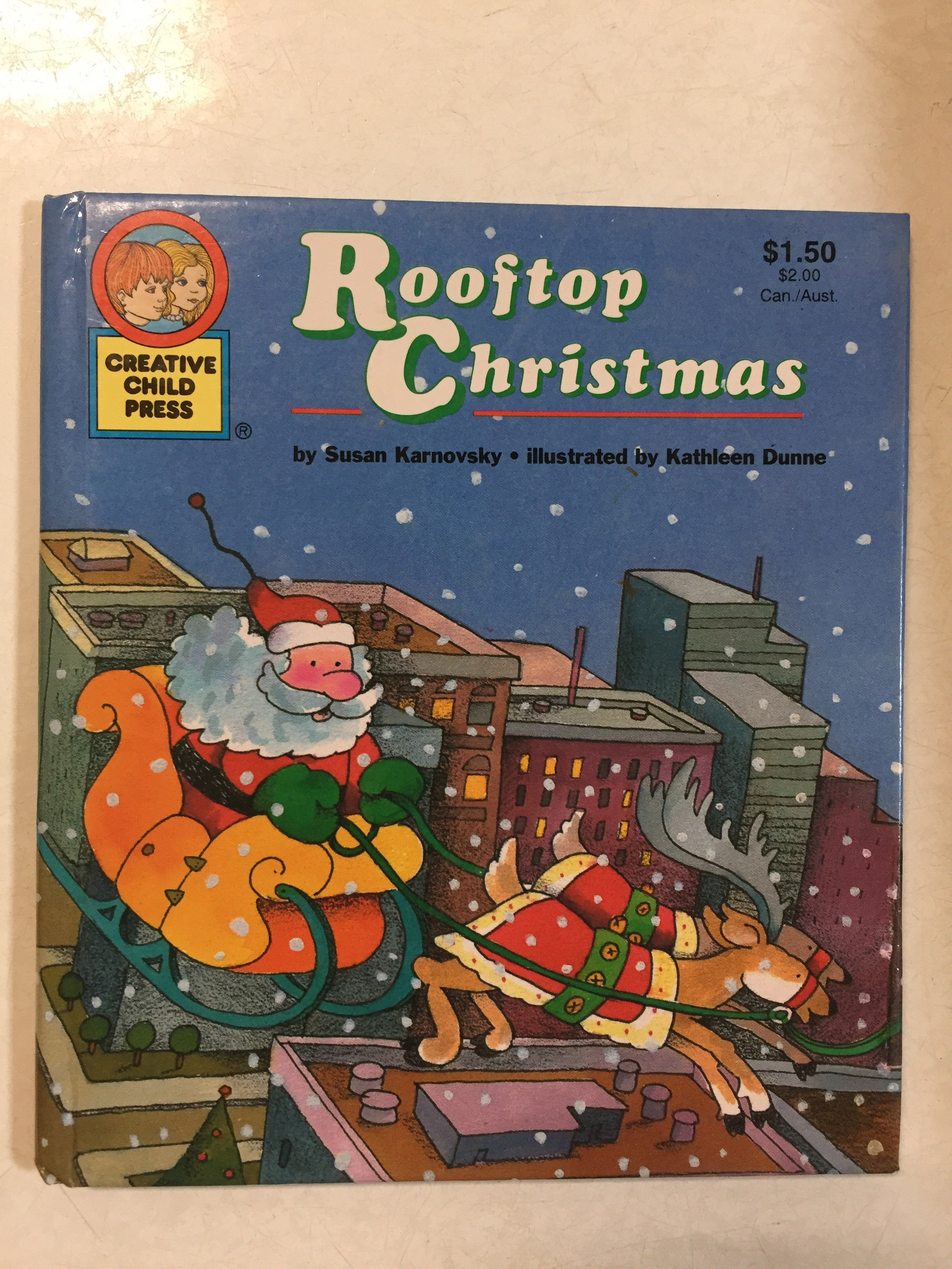 Rooftop Christmas