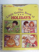The Little Golden Book of Holidays - Slickcatbooks