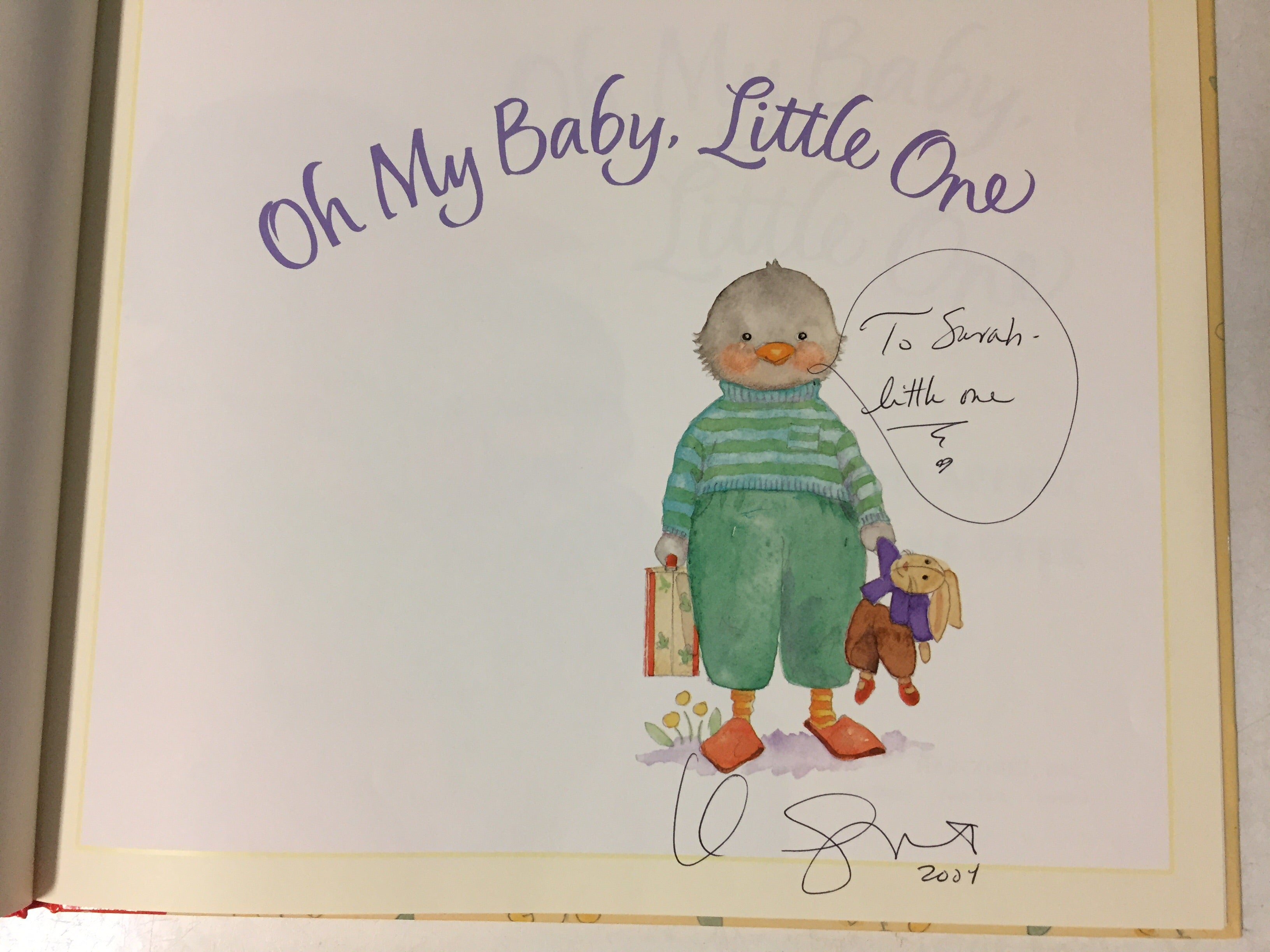 Oh My Baby, Little One - Slickcatbooks