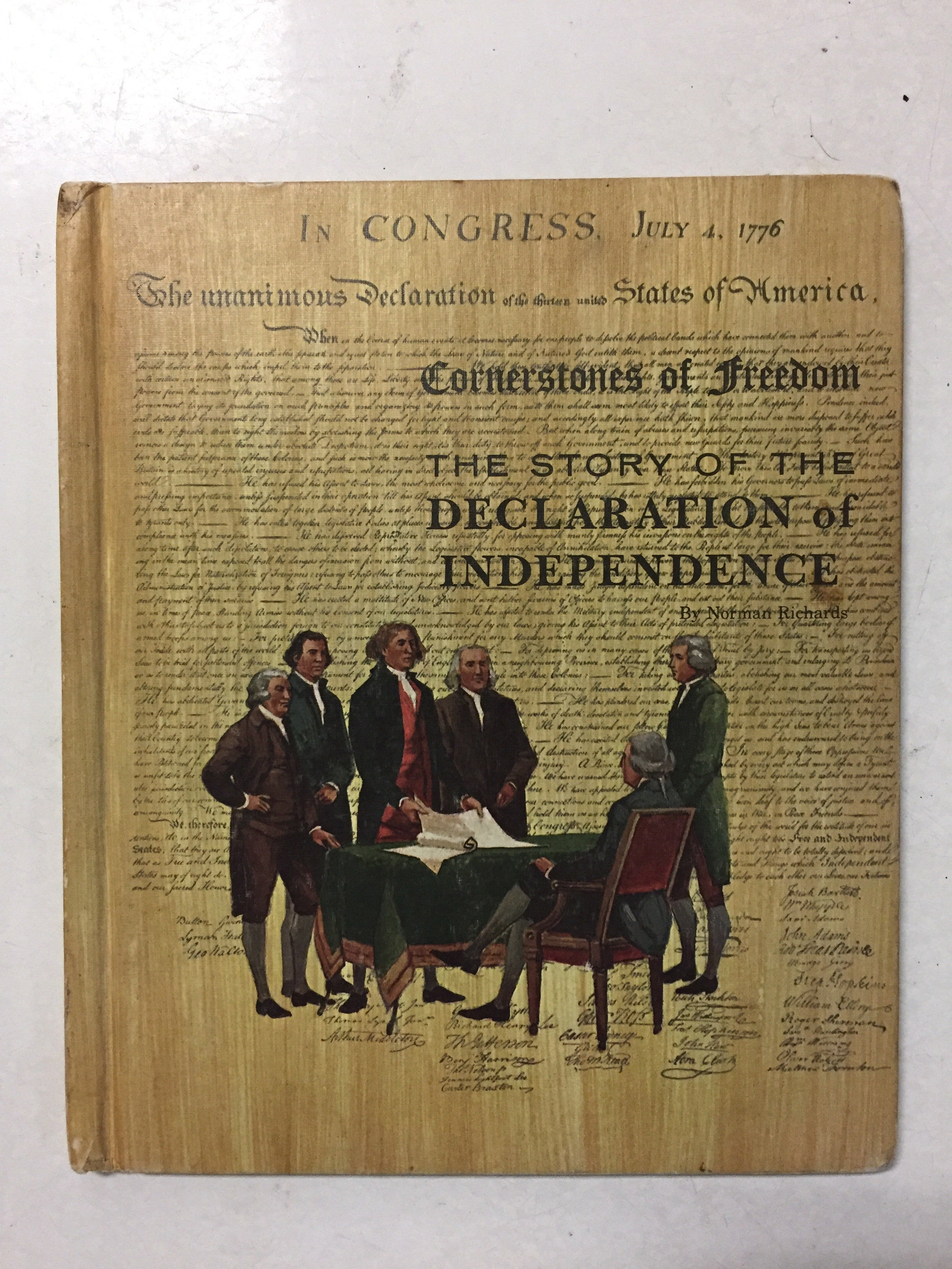 The Story of the Declaration of Independence - Slickcatbooks