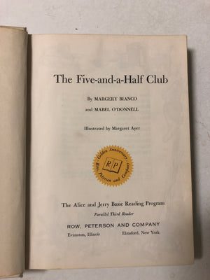 The Five-and-a-Half Club (The Alice and Jerry Books) - Slickcatbooks