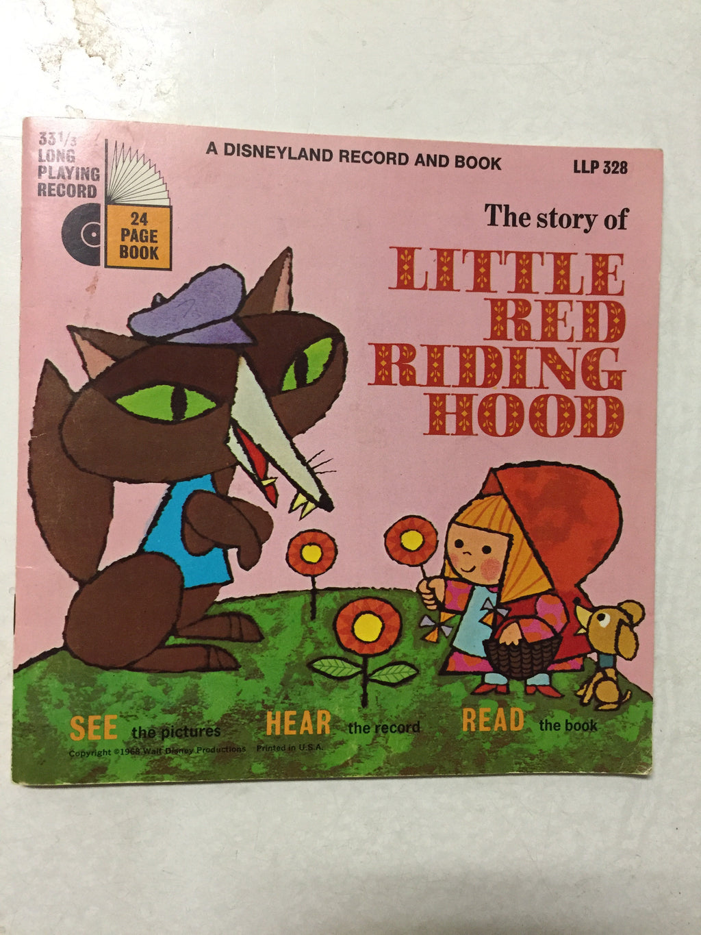 The Story of Little Red Riding Hood - Slickcatbooks