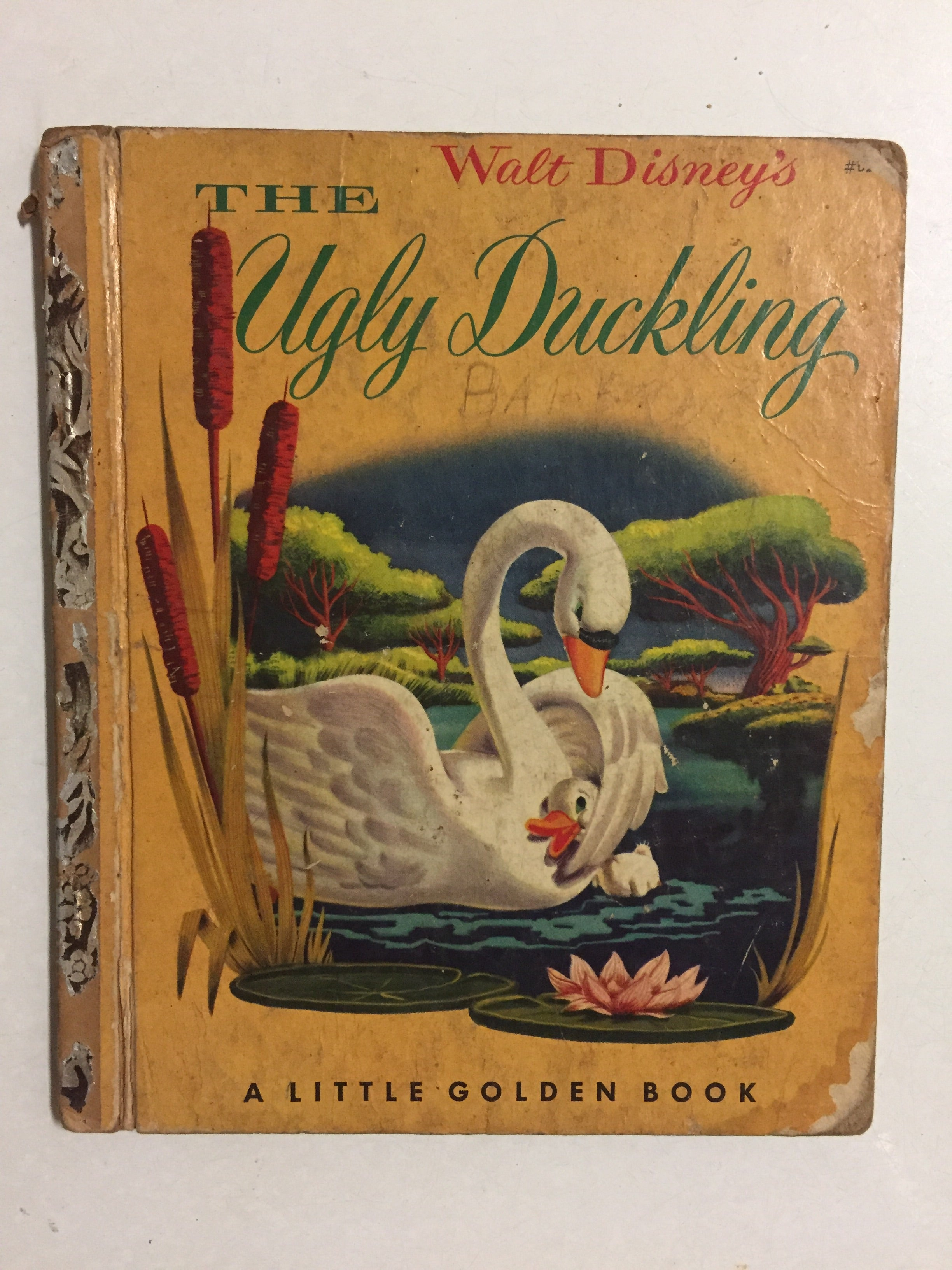 Walt Disney's The Ugly Duckling - Slick Cat Books