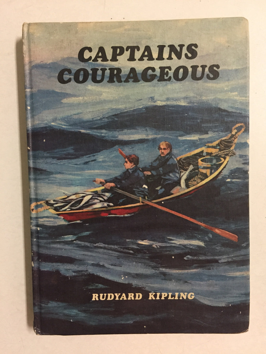Captain Courageous - Slick Cat Books
