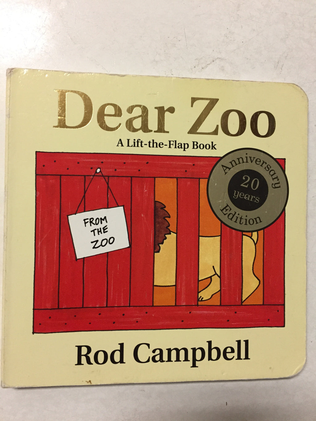 Dear Zoo A Lift the Flap Book - Slick Cat Books