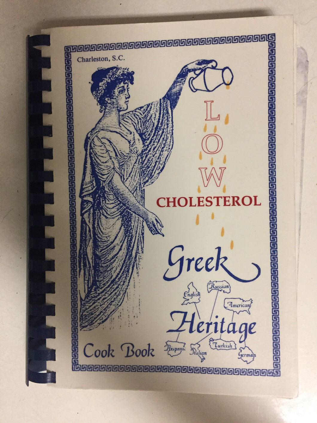 Low Cholesterol Greek Heritage Cook Book - Slickcatbooks