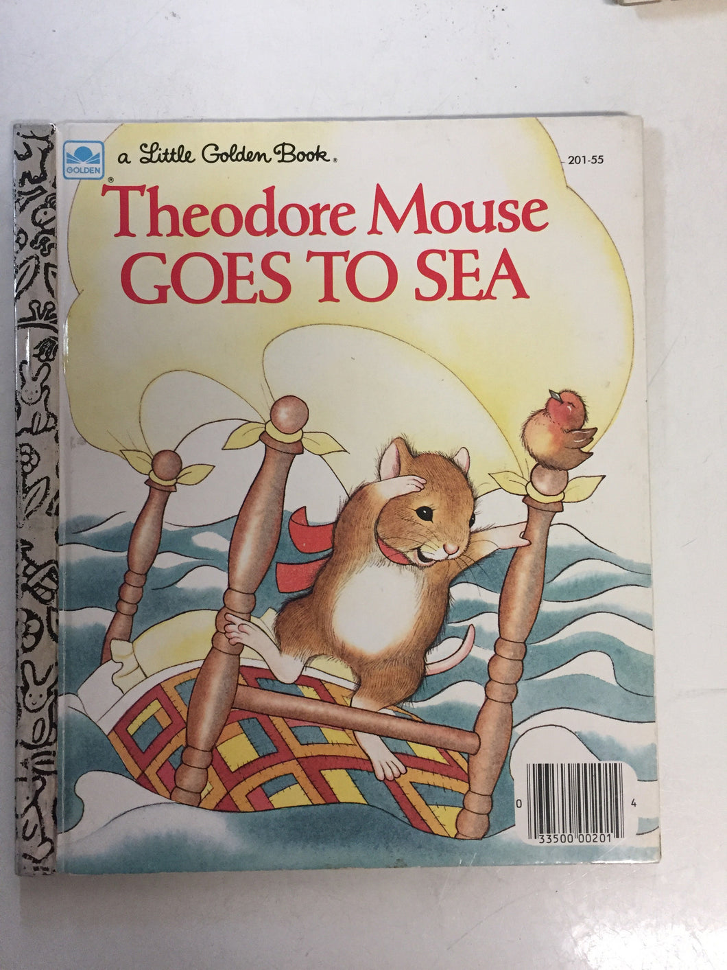 Theodore Mouse Goes To Sea - Slickcatbooks