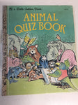 Animal Quiz Book - Slickcatbooks