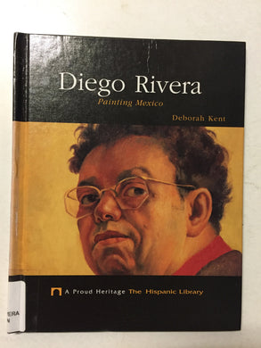 Diego Rivera Painting Mexico - Slick Cat Books