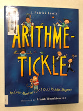 Arithmetic-Tickle An Even Number of Odd Riddle-Rhymes - Slick Cat Books