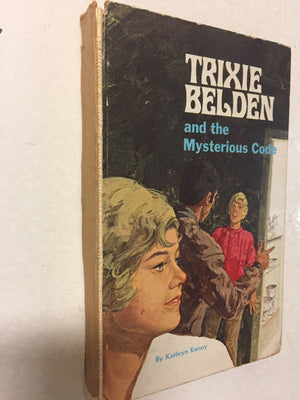 Trixie Belden and the Mysterious Code - Slickcatbooks