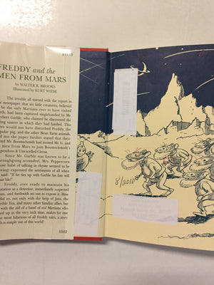 Freddy and the Men From Mars - Slickcatbooks