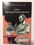 1 Peter: Message of Encouragement January Bible Study -Slick Cat Books