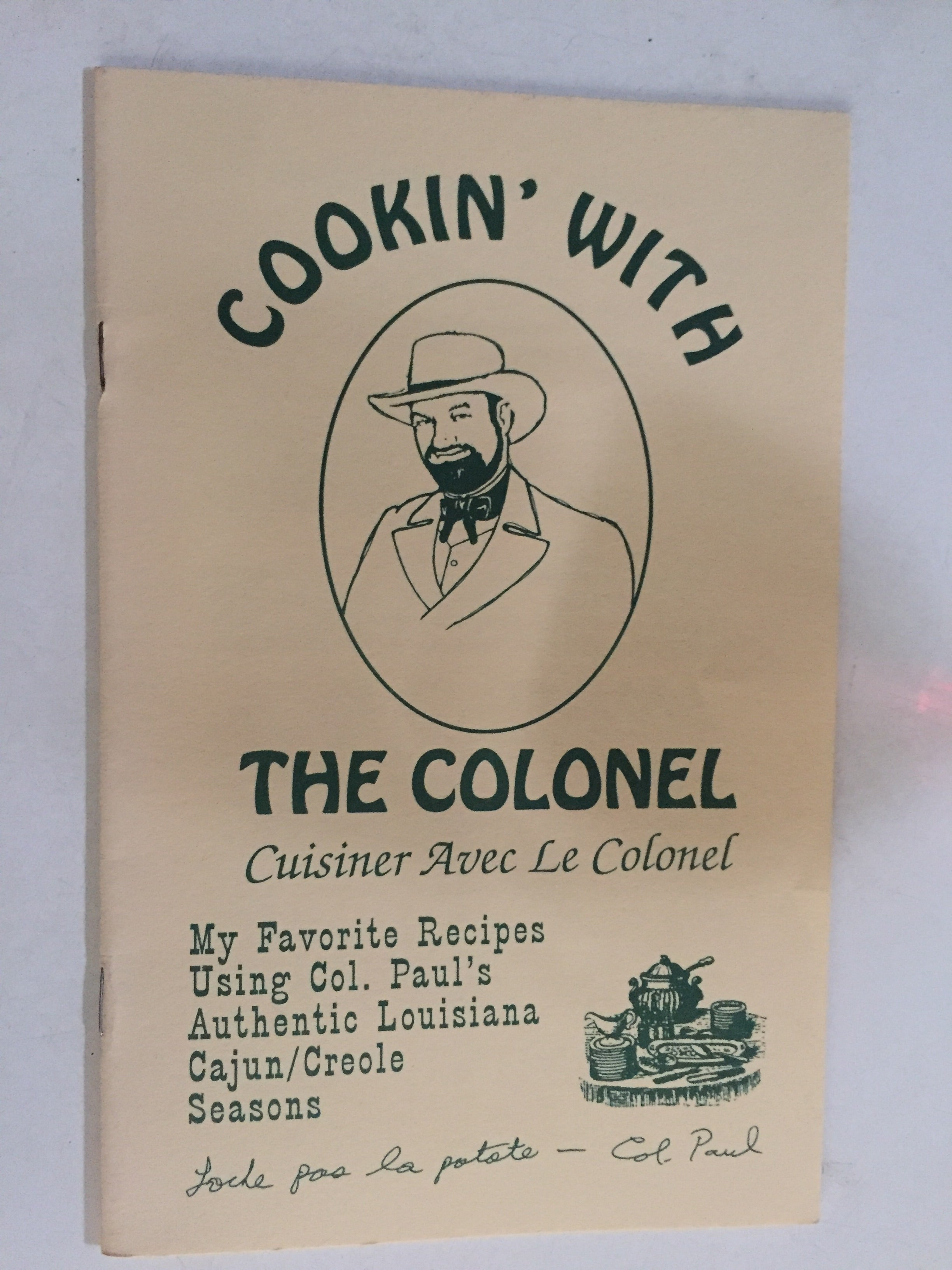 Cookin' With the Colonel - Slick Cat Books