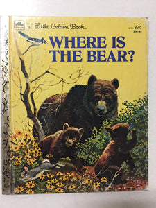 Where is the Bear - Slick Cat Books