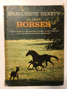 Marguerite Henry's All About Horses - Slick Cat Books