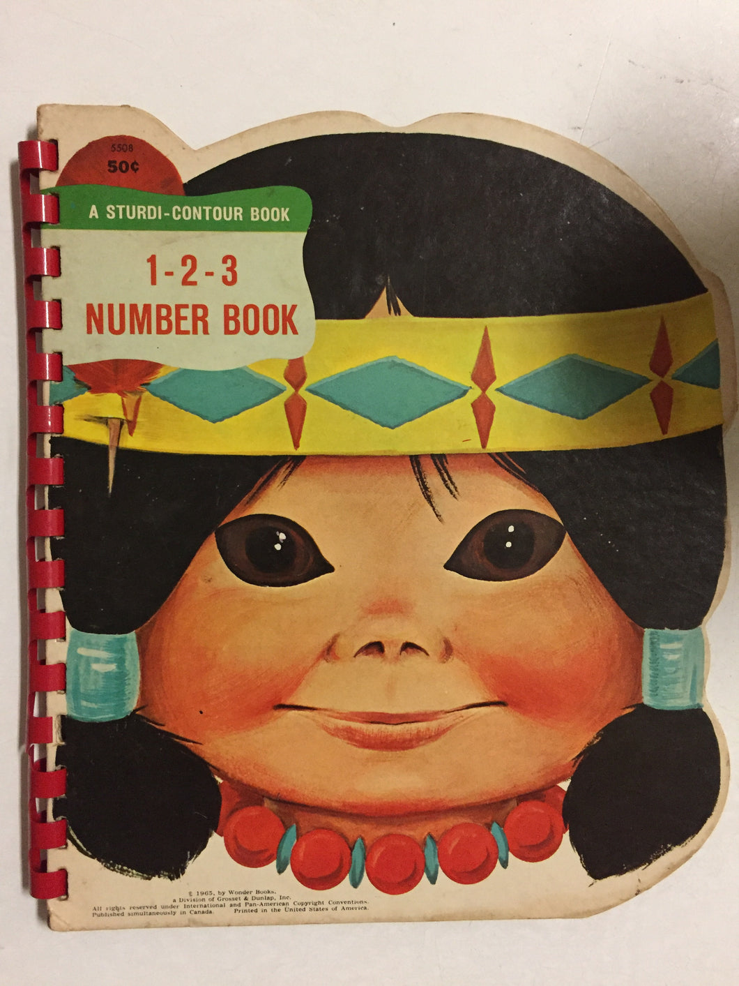 1-2-3 Number Book - Slick Cat Books