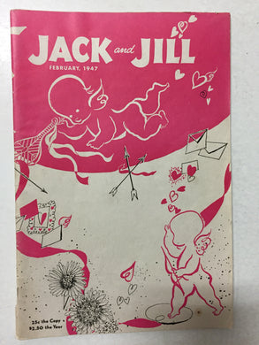 Jack and Jill Magazine February 1947 - Slickcatbooks