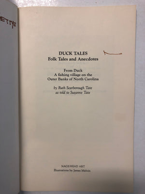 Duck Tales Folk Tales and Anecdotes