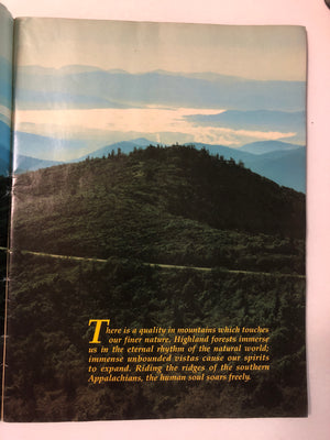Blue Ridge Parkway The Story Behind the Scenery - Slickcatbooks