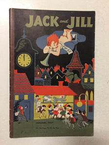 Jack and Jill Magazine January 1947 - Slickcatbooks
