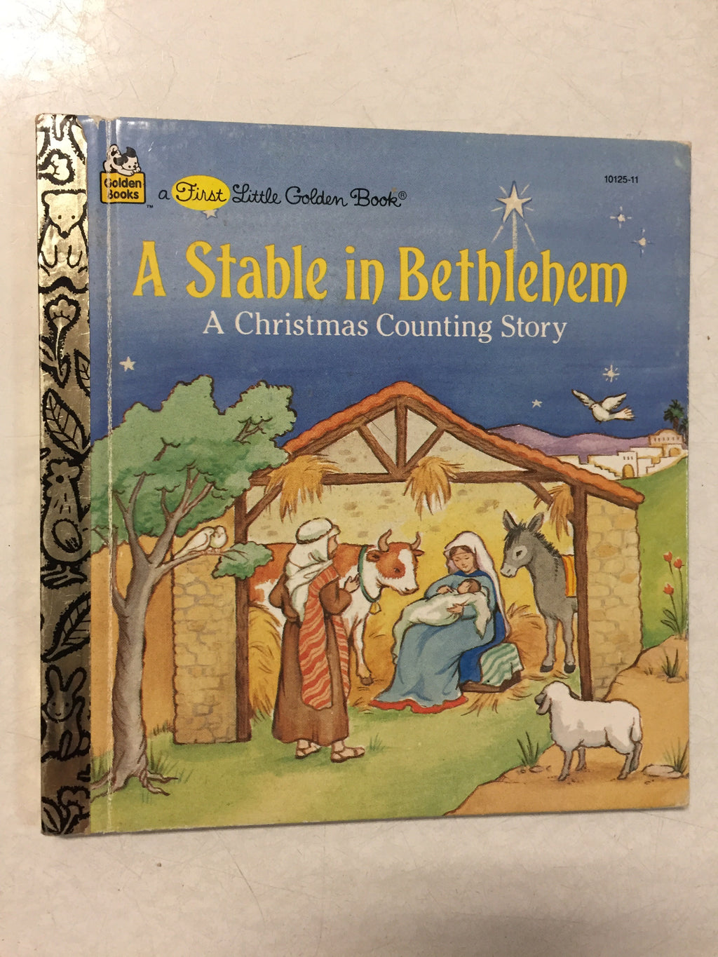 A Stable In Bethlehem A Christmas Counting Story - Slick Cat Books