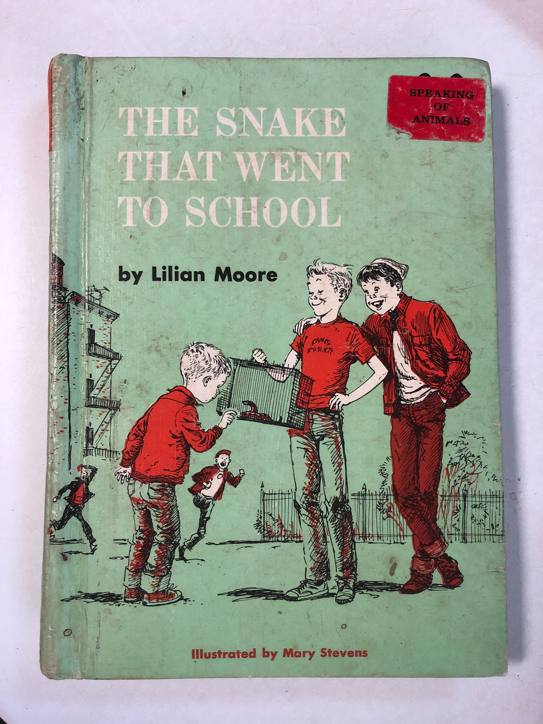 The Snake That Went To School - Slick Cat Books