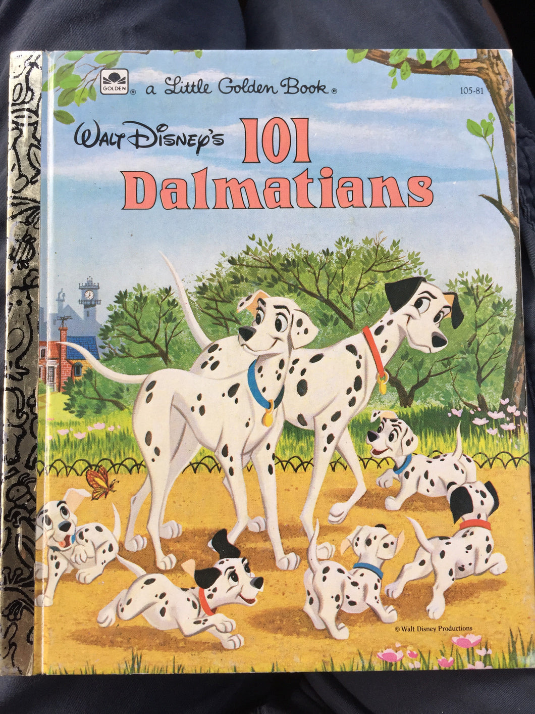 Walt Disney's 101 Dalmations - Slickcatbooks