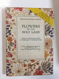 Flowers of the Holy Land Thirty Reproductions of Original Watercolors - Slickcatbooks