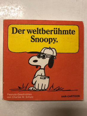 Der Weltberuhmte Snoopy - Slick Cat Books