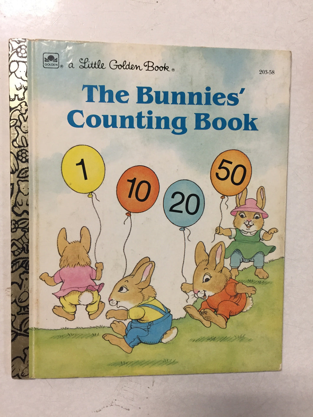 The Bunnies Counting Book - Slickcatbooks
