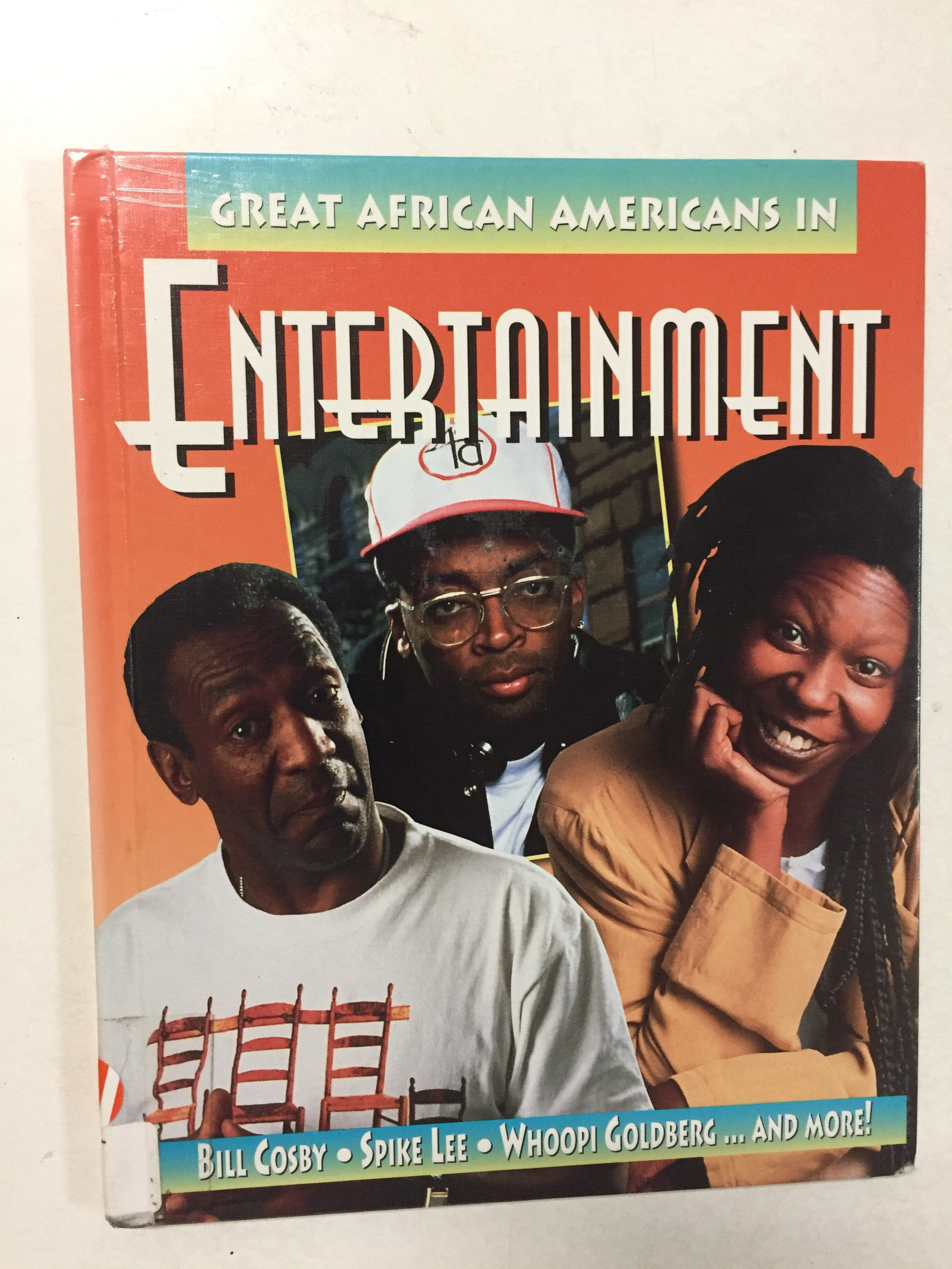 Great African Americans in Entertainment - Slickcatbooks