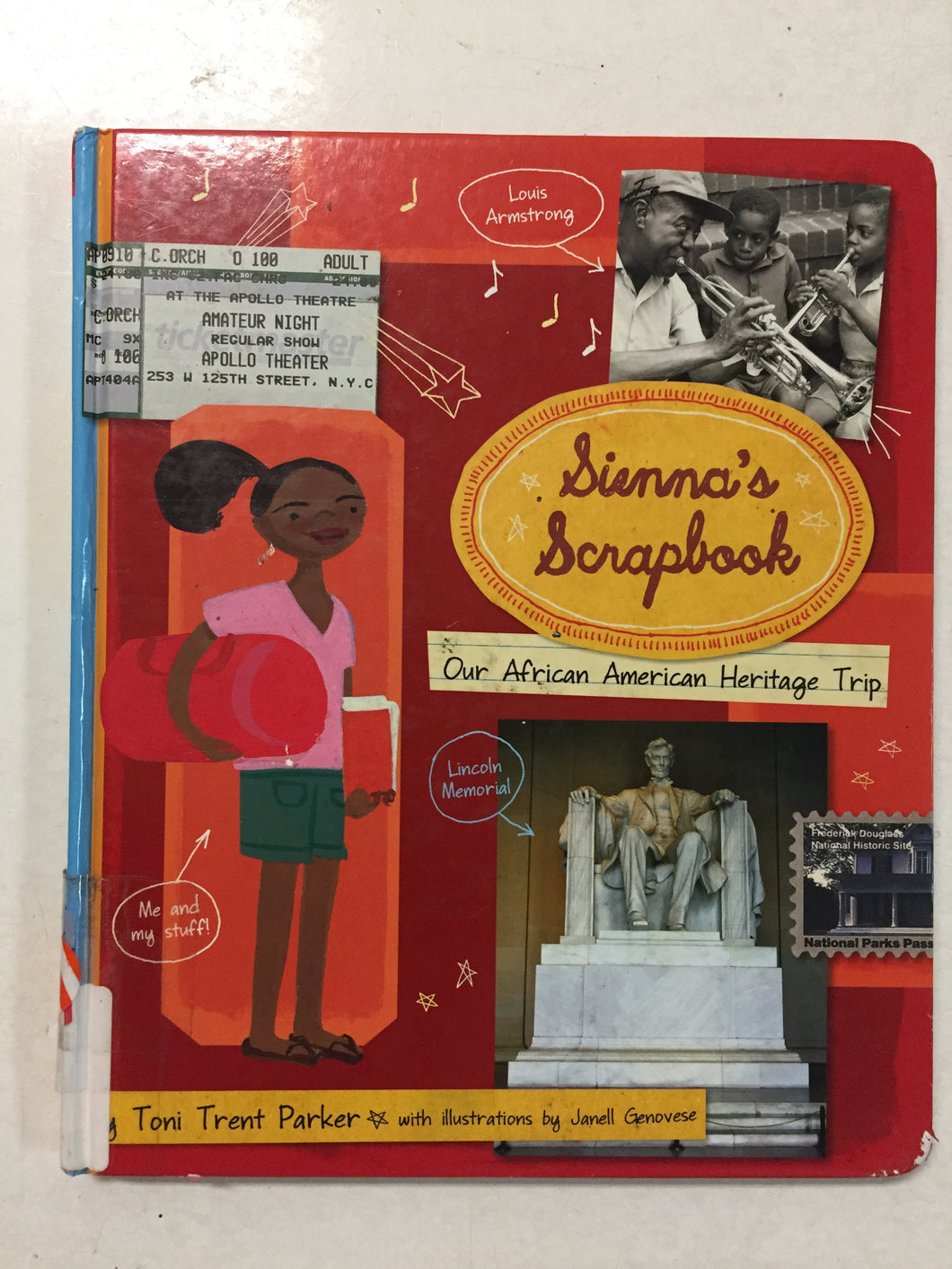 Sienna's Scrapbook Our African American Heritage Trip - Slickcatbooks