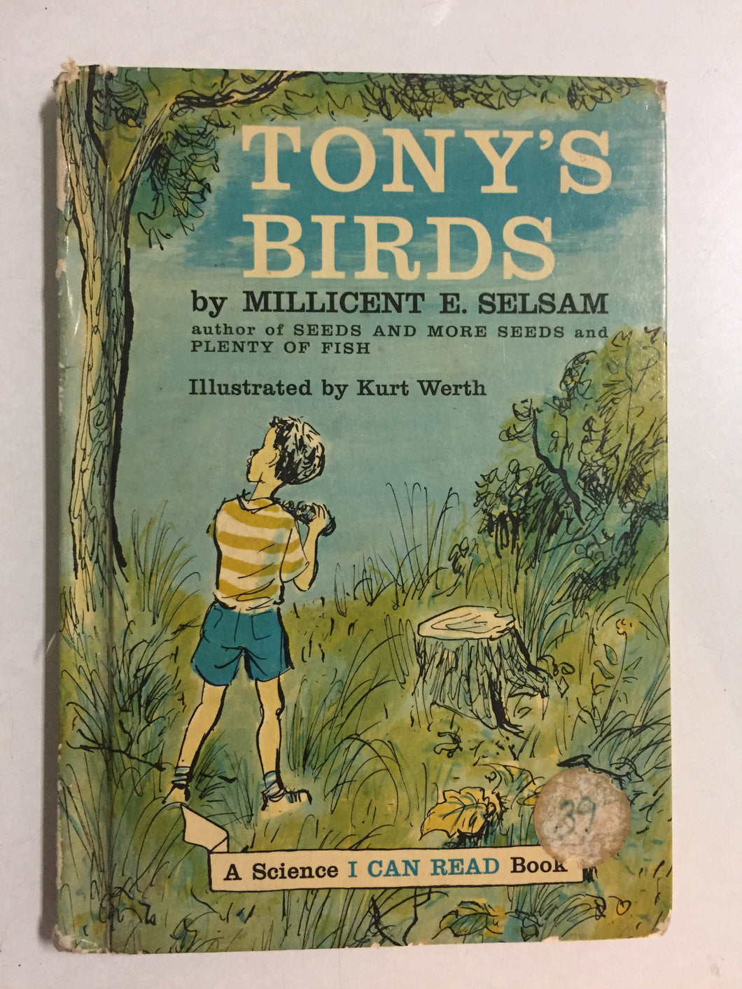 Tony's Birds - Slickcatbooks